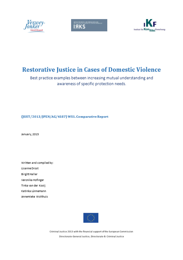 Restorative Justice in Cases of Domestic Violence  Best