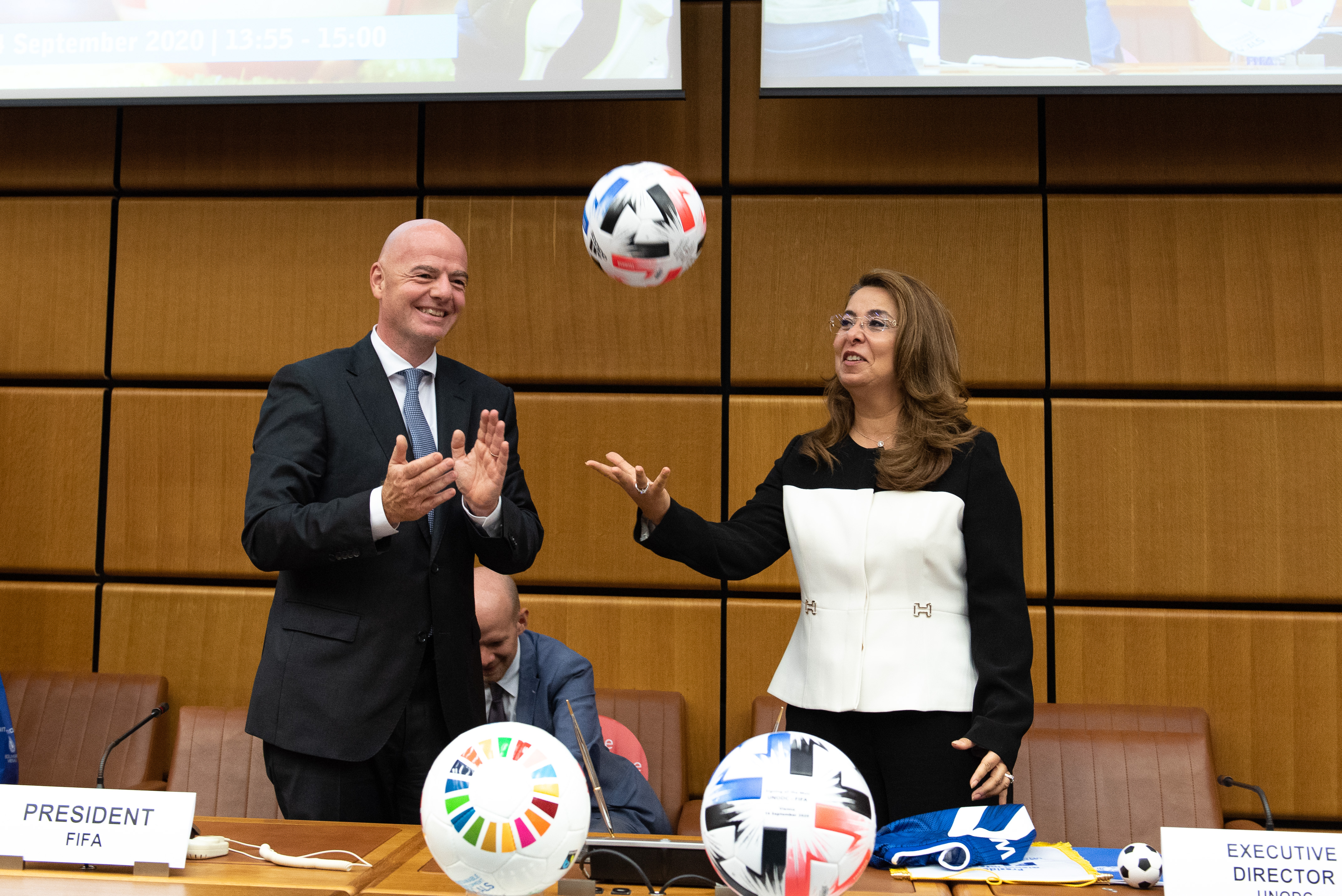 UNODC & FIFA partner to kick out corruption and foster youth development through football