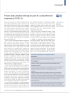 "<p>Prisons and custodial settings are part of a comprehensive response to COVID-19 (The Lancet, 2020)</p> <p><a href=""https://www.thelancet.com/journals/lanpub/article/PIIS2468-2667(20)30058-X/fulltext"">English</a></p>"